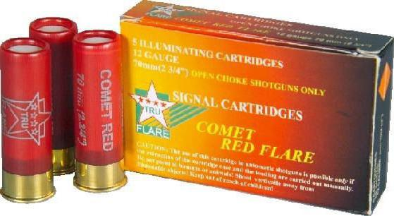 ammunition 12 gauge alarm record