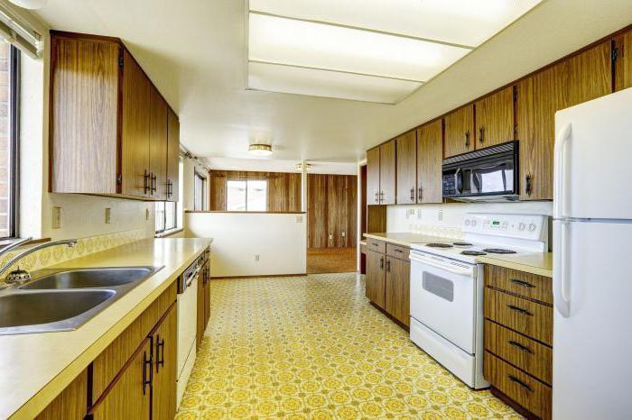 kitchen tiles on the floor