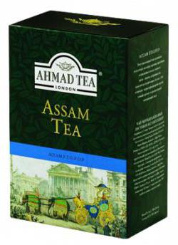 Assam tea in Moscow
