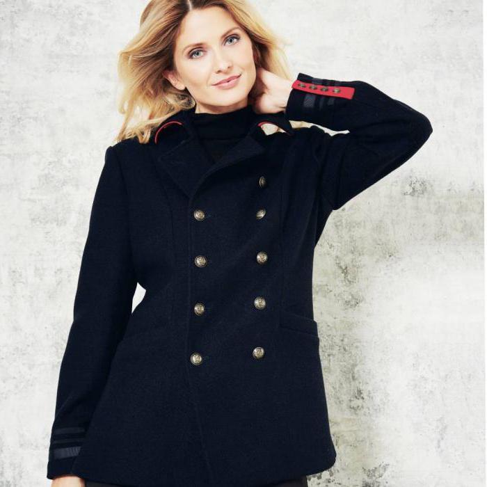 military style coat photo