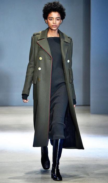 what to wear military coat