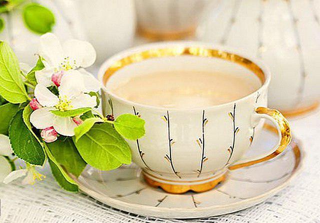 чай с молоком и солью польза