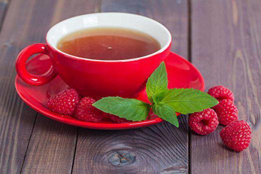 raspberry tea use