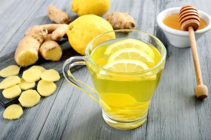 Чай для похудения с имбирем лимоном и медом