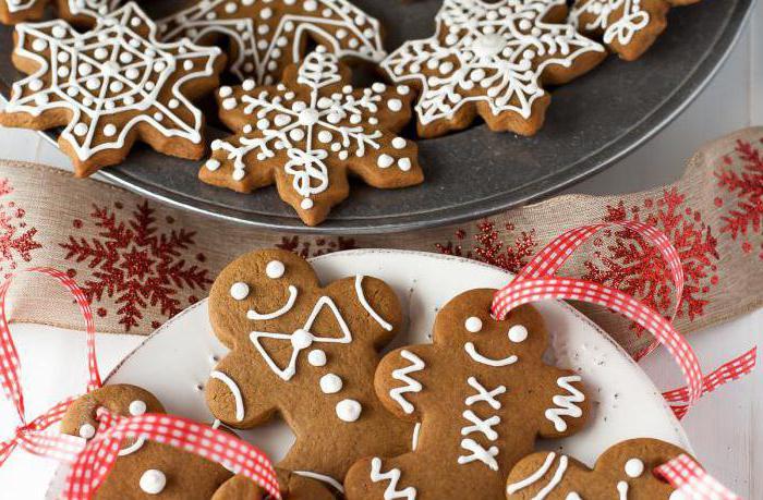 Christmas gingerbread recipe