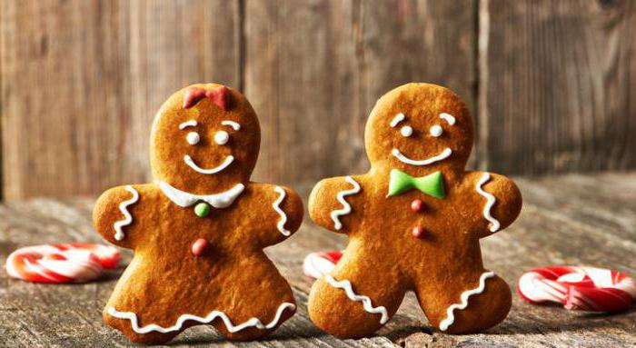 Christmas gingerbread recipe with photos