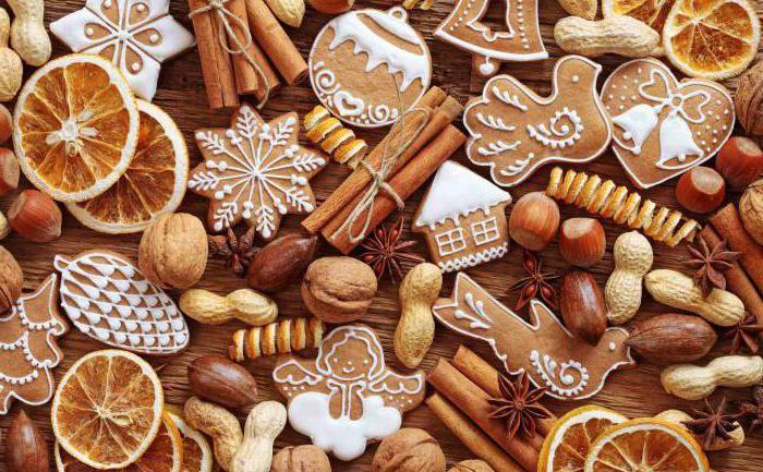 Christmas gingerbread on rye flour recipe