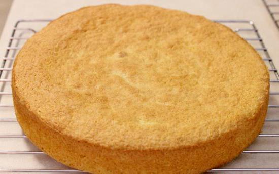 бисквит постный