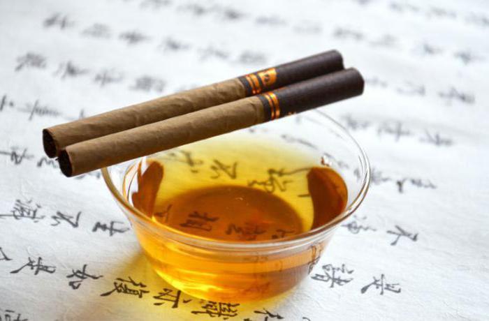 Что будет если покурить зеленый чай