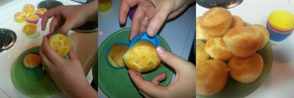 recipe for muffins with sour cream in silicone tins with photos step by step