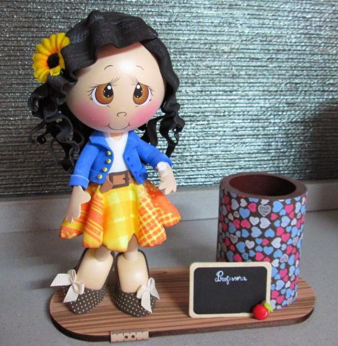 Кукол из фоамирана своими руками 446