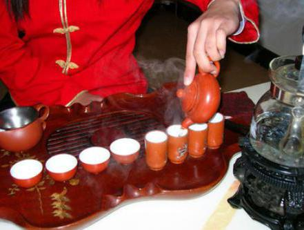Chinese tea ceremony tableware titles and photos