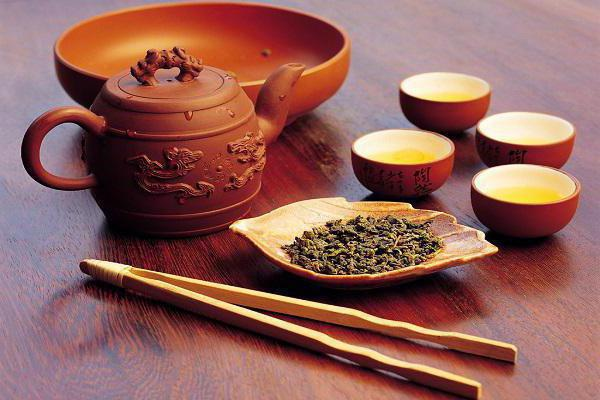 stages of boiling water in the Chinese tea ceremony