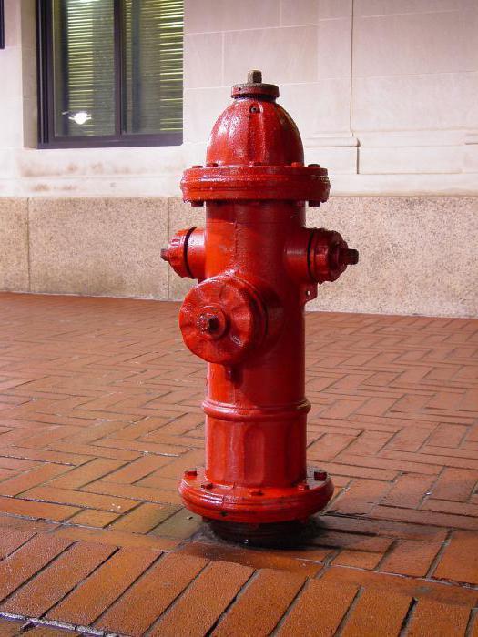 fire hydrant installation