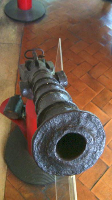 antique wick gun