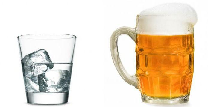 vodka or beer
