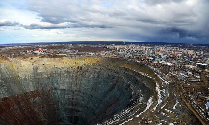 где в россии алмазы