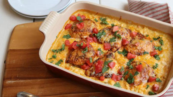 chicken with pineapple and cheese in the oven recipe