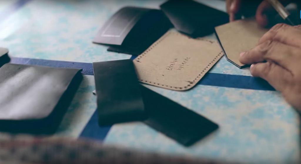 passport cover production