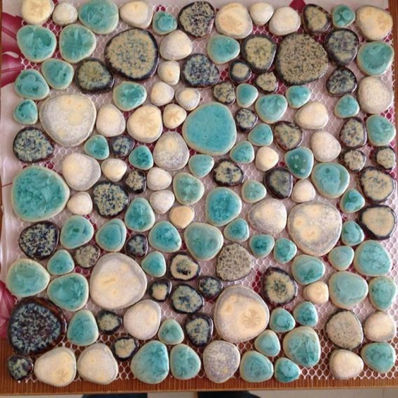 Technique of mosaic made of stones