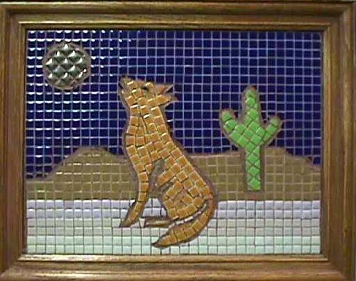 Ceramic square DIY painting