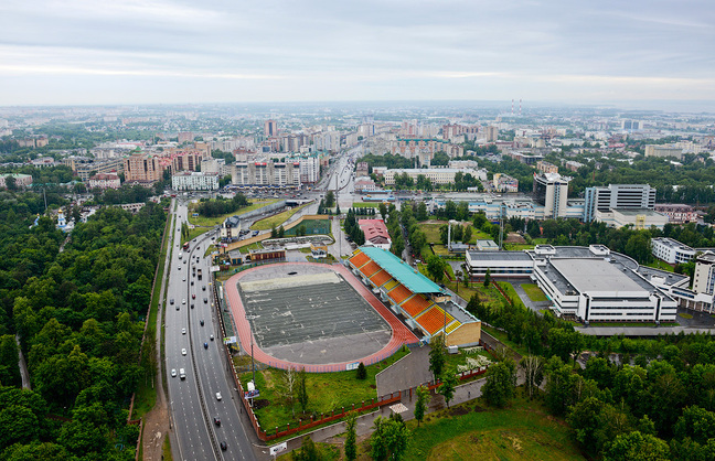 "Stadium ""Labor Reserves"" in Kazan"