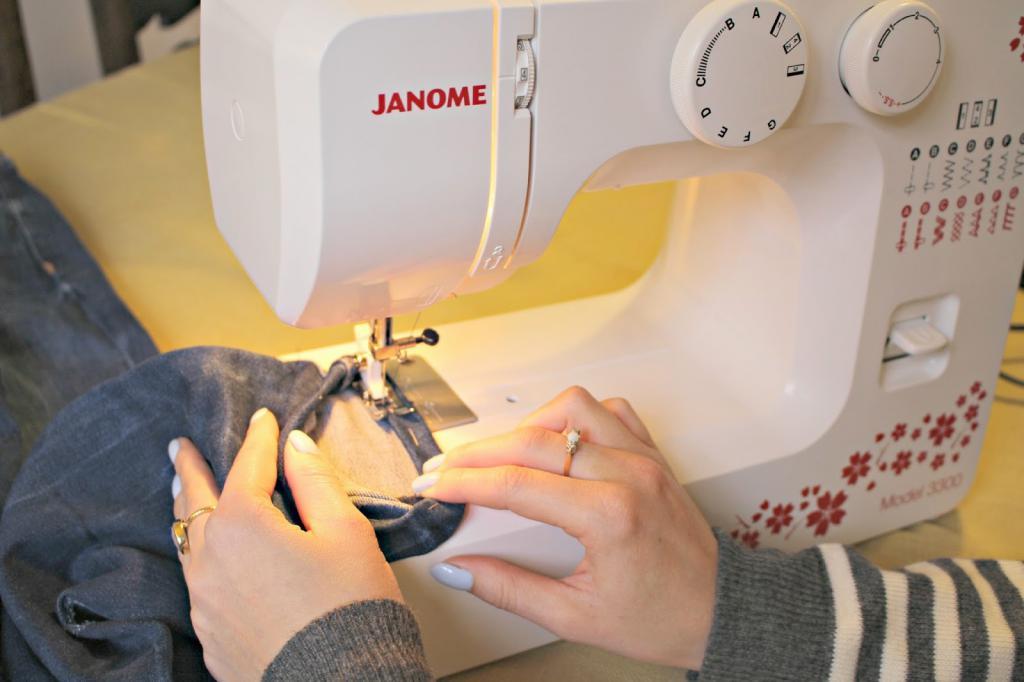 Настройка швейной машины