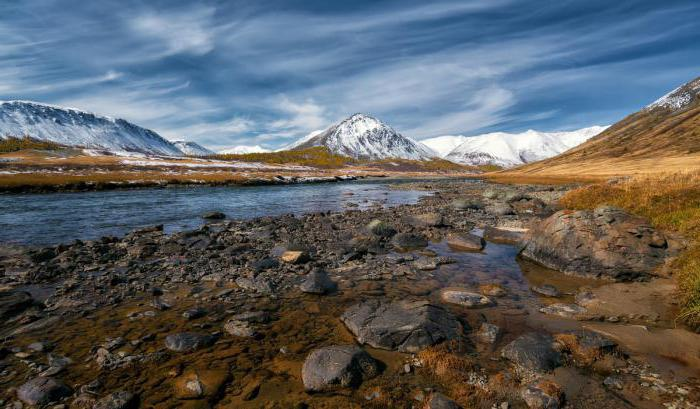 Altitudinal zonality of mountains