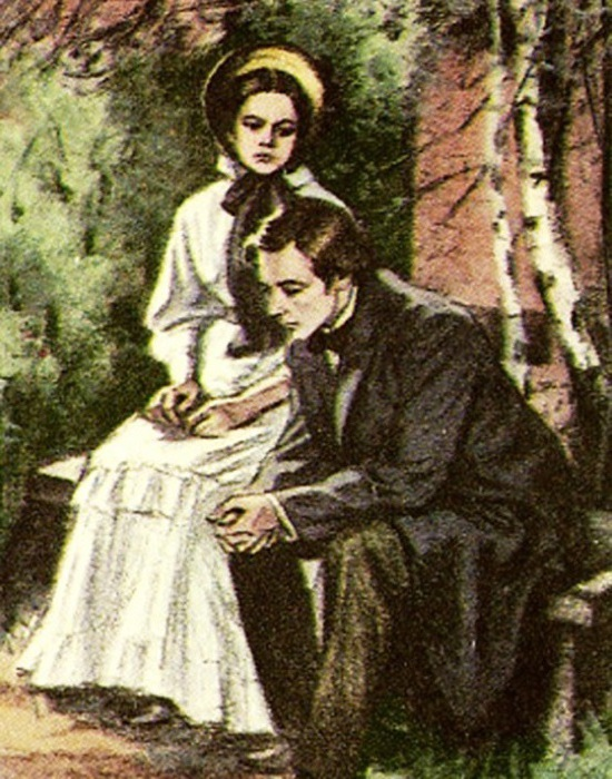 fathers and children the role of landscape in the novel