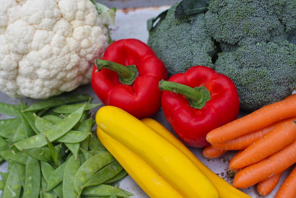 Многообразие овощей