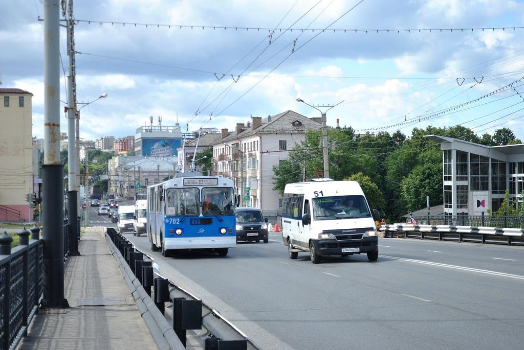 Транспорт Чебоксары