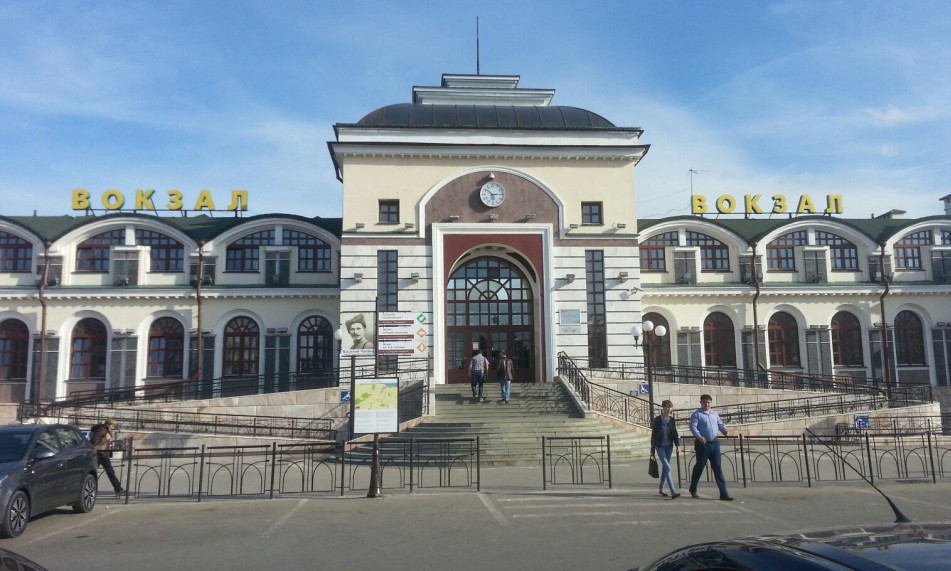 Вокзал Чебоксары