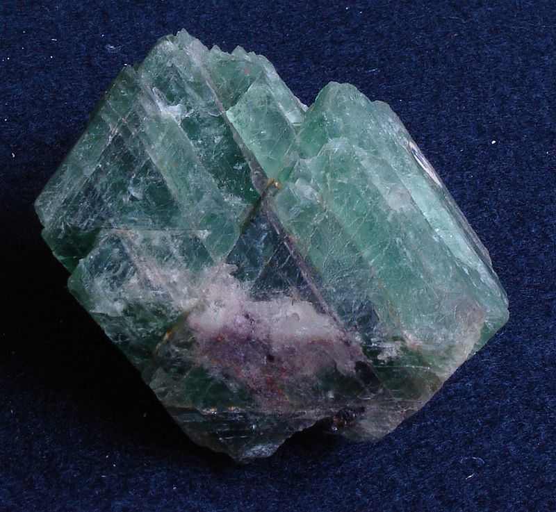 description of the physical properties of minerals