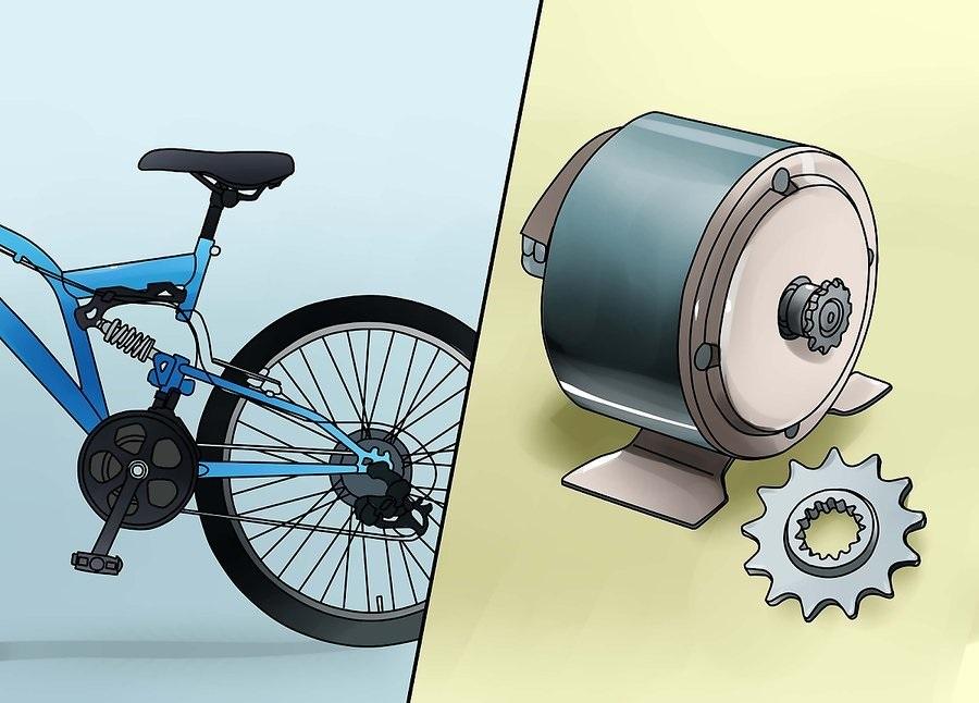 Электровелосипед за 30 минут это реальность