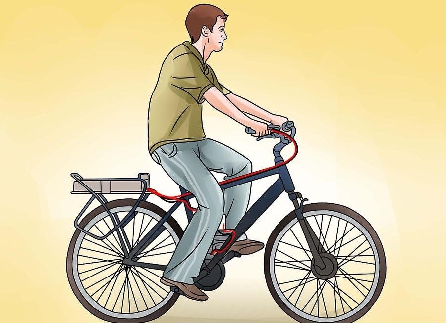 Электровелосипед за 30 минут реально ли сделать