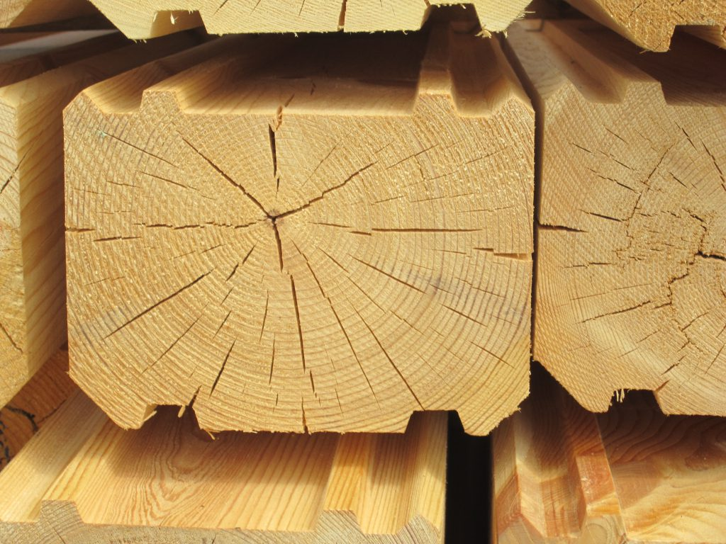 Profiled timber