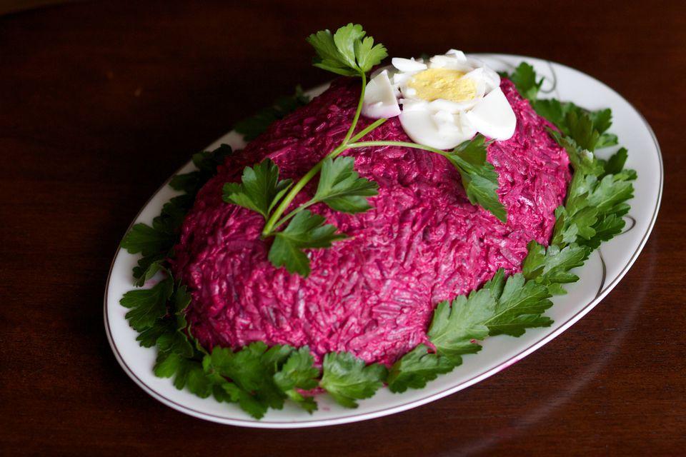 Королевская шуба салат с
