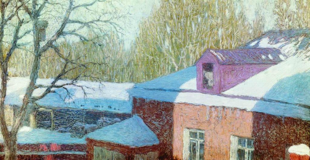 Painting Krymov