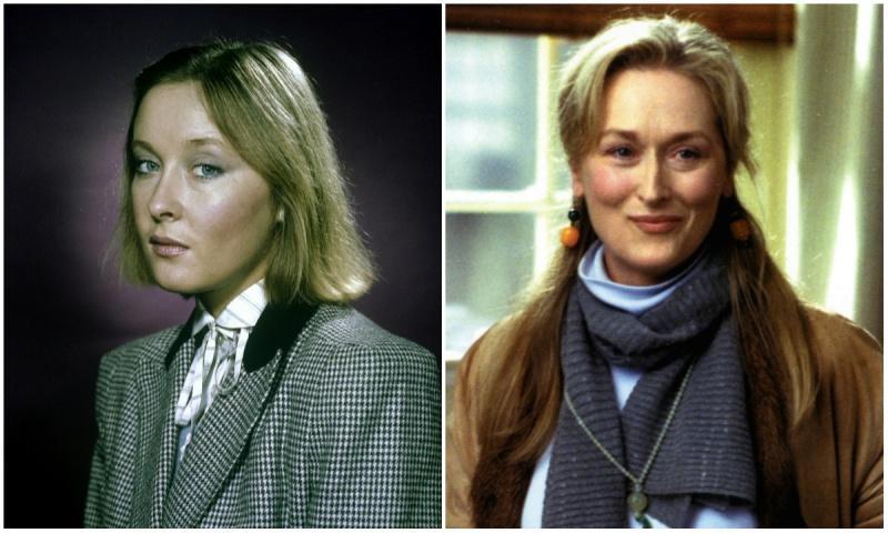 Larisa Udovichenko and Meryl Streep
