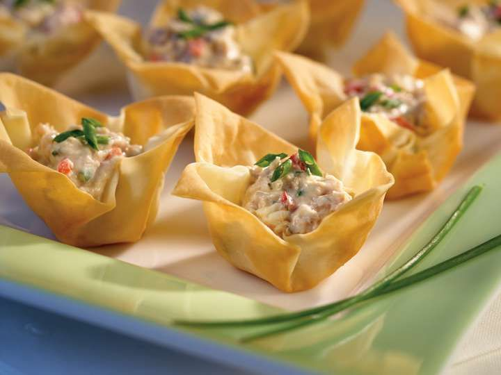 Tuna Tartlets