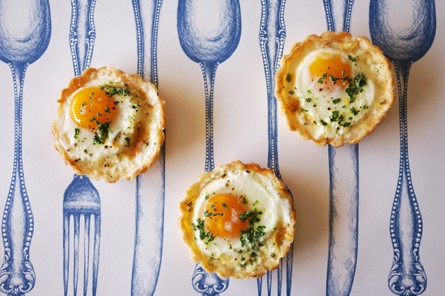 egg tartlet