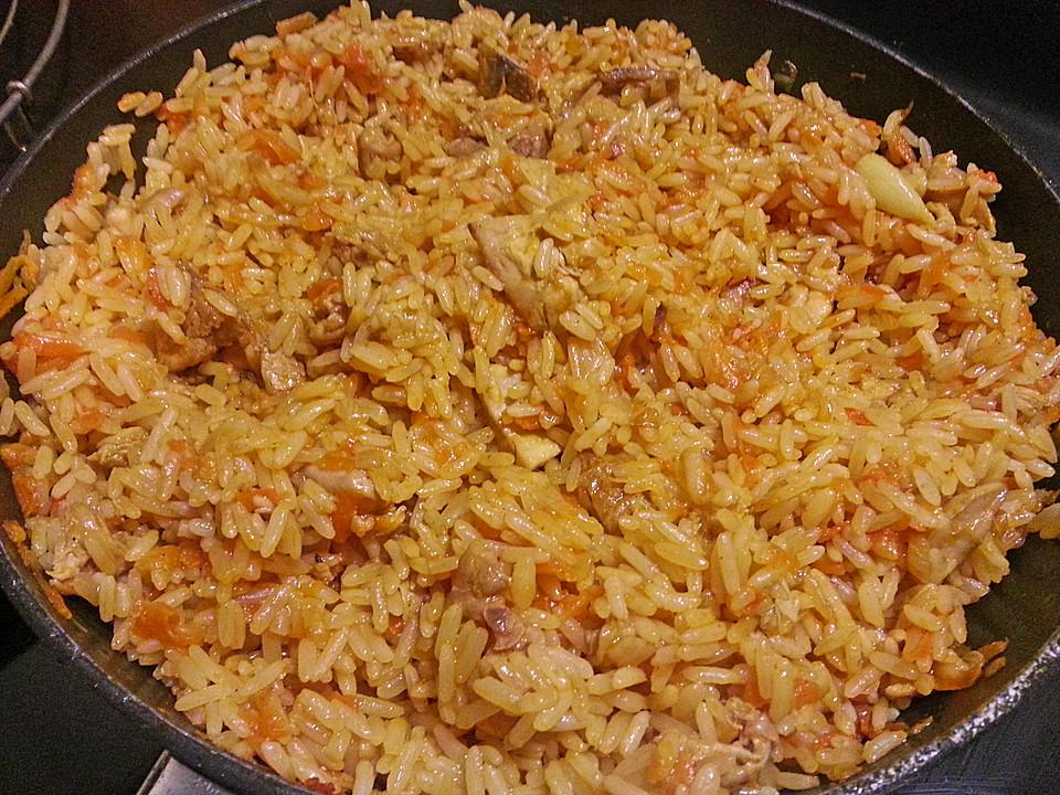 pilaf Tajik recipe