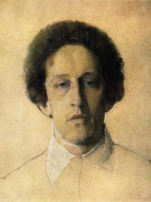 Portrait of Blok