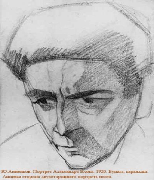 Portrait block pencil