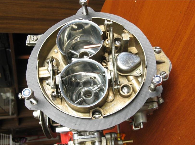 open carburetor to 151