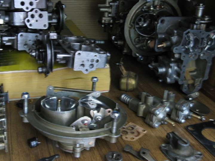 carburetor parts to 151