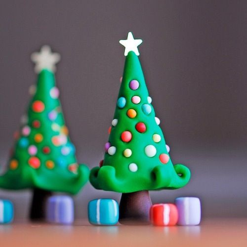 how to make a tree of plasticine step by step