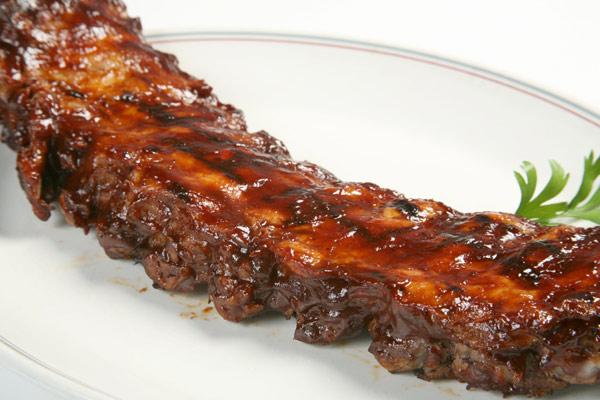 Soy marinade for pork ribs