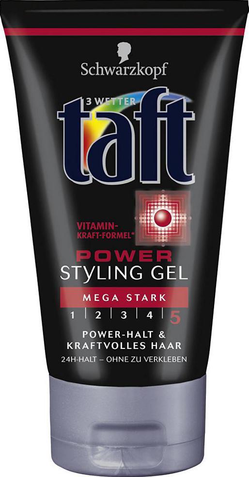 гель тафт для фиксации волос