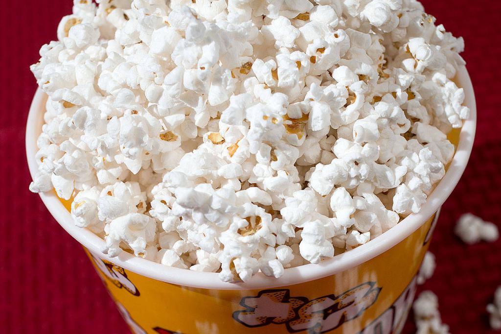 how popcorn got to the cinema